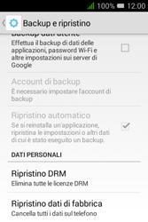 Alcatel Pixi 3 (3.5) - Dispositivo - Ripristino delle impostazioni originali - Fase 7