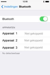 Apple iPhone 4 S - iOS 7 - bluetooth - aanzetten - stap 5