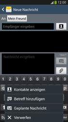 Samsung I9505 Galaxy S4 LTE - MMS - Erstellen und senden - Schritt 12