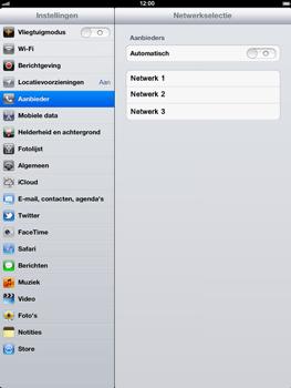 Apple The New iPad - Bellen - in het buitenland - Stap 6