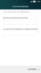 Huawei Y5 - E-mail - Account instellen (POP3 met SMTP-verificatie) - Stap 25