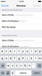 Apple iPhone SE - iOS 10 - E-mail - Configuration manuelle - Étape 13