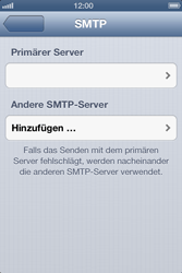 Apple iPhone 4S - E-Mail - Manuelle Konfiguration - Schritt 18