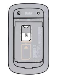 BlackBerry 9900 Bold Touch - SIM-Karte - Einlegen - Schritt 4