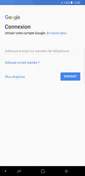 Samsung Galaxy Note 8 - Applications - Créer un compte - Étape 4