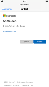 Apple iPhone 6s Plus - iOS 13 - E-Mail - Konto einrichten (outlook) - Schritt 6