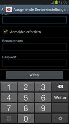 Samsung Galaxy S III LTE - E-Mail - Manuelle Konfiguration - Schritt 13