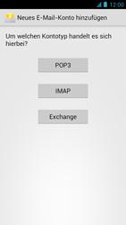 Alcatel One Touch Idol - E-Mail - Manuelle Konfiguration - Schritt 10