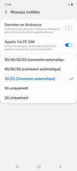 Samsung Galaxy A51 5G - Internet et connexion - Activer la 4G - Étape 7