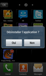 Samsung Wave 2 - Applications - Supprimer une application - Étape 5