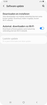 Samsung Galaxy A80 - software - update installeren zonder pc - stap 5