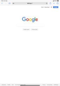 Apple ipad-pro-11-inch-2018-model-a1934- ipados-13 - Internet - Hoe te internetten - Stap 8