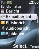 Nokia 2330 classic - e-mail - hoe te versturen - stap 5