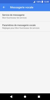 Sony Xperia XZ2 - Messagerie vocale - Configuration manuelle - Étape 8