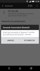 HTC One M8 - Bluetooth - Jumelage d