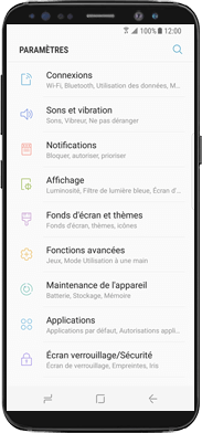 Samsung Galaxy Note 8 - WiFi - Activez WiFi Calling - Étape 3