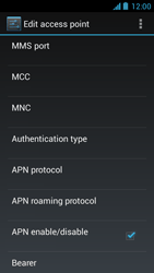 Acer Liquid Z5 - MMS - Manual configuration - Step 13