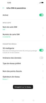 Oppo Find X2 - Réseau - Sélection manuelle du réseau - Étape 13