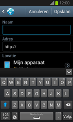 Samsung I8730 Galaxy Express - Internet - Hoe te internetten - Stap 7