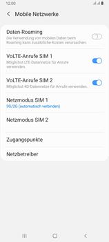 Samsung Galaxy A80 - Netzwerk - So aktivieren Sie eine 4G-Verbindung - Schritt 6