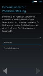 Alcatel Idol S - Apps - Konto anlegen und einrichten - 1 / 1