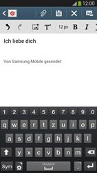 Samsung I9505 Galaxy S4 LTE - E-Mail - E-Mail versenden - Schritt 10