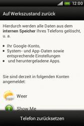 HTC A320e Desire C - Fehlerbehebung - Handy zurücksetzen - Schritt 8