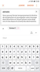 Samsung Galaxy J3 (2017) - E-mails - Envoyer un e-mail - Étape 9