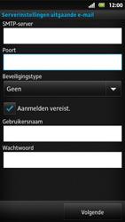 Sony MT27i Xperia Sola - e-mail - handmatig instellen - stap 12