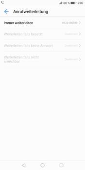 Huawei Mate 10 Lite - Anrufe - Rufumleitungen setzen und löschen - 8 / 9