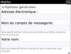 BlackBerry 9780 Bold - E-mail - Configuration manuelle - Étape 11