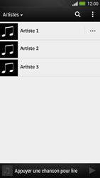 HTC One - Photos, vidéos, musique - Ecouter de la musique - Étape 5