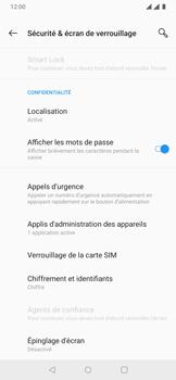 OnePlus 7 - Sécuriser votre mobile - Personnaliser le code PIN de votre carte SIM - Étape 5