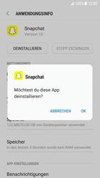 Samsung Galaxy S7 - Android N - Apps - Eine App deinstallieren - Schritt 7