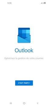 Samsung Galaxy A21s - E-mails - Ajouter ou modifier votre compte Outlook - Étape 5