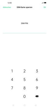 Oppo Find X2 - Startanleitung - So aktivieren Sie eine SIM-PIN - Schritt 8