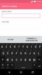 HTC Desire EYE - E-mail - Configuration manuelle - Étape 17
