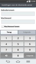 LG D620 G2 mini - e-mail - handmatig instellen - stap 11