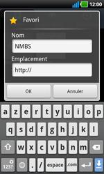 LG P970 Optimus Black - Internet - navigation sur Internet - Étape 9