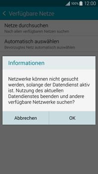 Samsung Galaxy Note 4 - Netzwerk - Manuelle Netzwerkwahl - Schritt 7