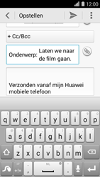 Huawei Ascend Y550 - e-mail - hoe te versturen - stap 9