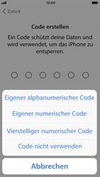 Apple iPhone SE - iOS 11 - Persönliche Einstellungen von einem alten iPhone übertragen - 14 / 29
