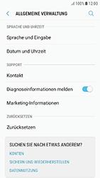 Samsung Galaxy J3 (2017) - Gerät - Zurücksetzen auf die Werkseinstellungen - Schritt 5