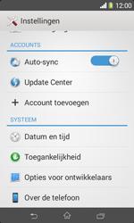 Sony D2005 Xperia E1 - software - update installeren zonder pc - stap 4