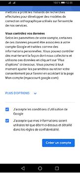 Huawei Y6 (2019) - Applications - Créer un compte - Étape 14