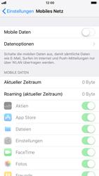 Apple iPhone 6s iOS 11 - Internet und Datenroaming - Prüfen, ob Datenkonnektivität aktiviert ist - Schritt 4
