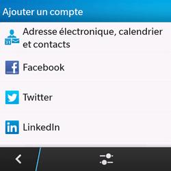 BlackBerry Q10 - E-mails - Ajouter ou modifier un compte e-mail - Étape 6