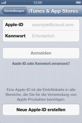 Apple iPhone 3GS - Apps - Einrichten des App Stores - Schritt 4