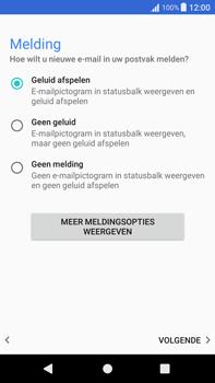 Sony Xperia XA1 Plus (G3421) - E-mail - Account instellen (IMAP met SMTP-verificatie) - Stap 21