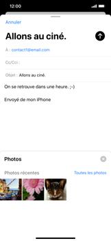 Apple iPhone 11 - E-mail - envoyer un e-mail - Étape 10